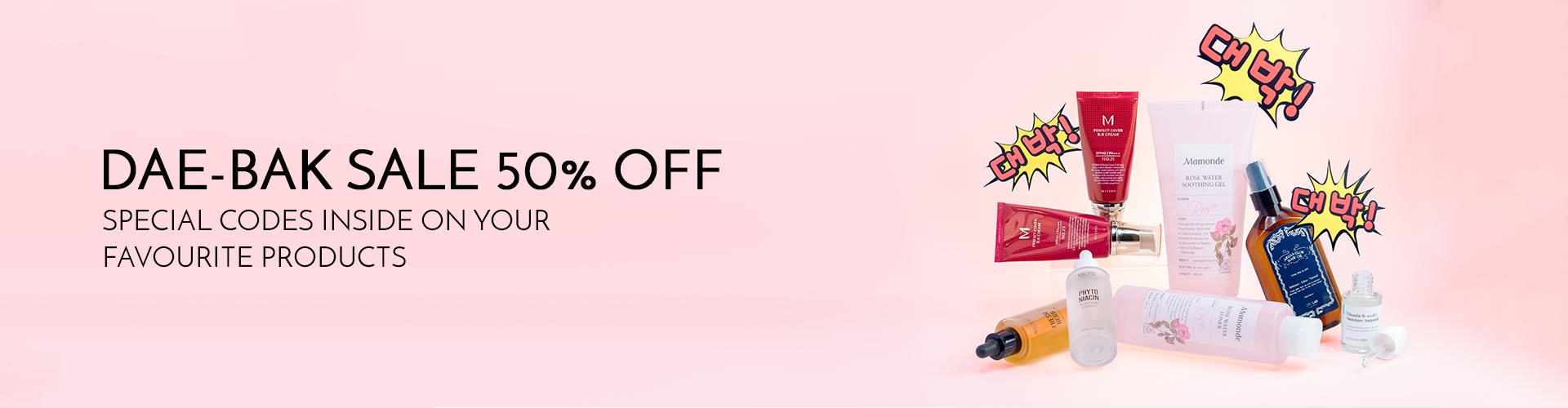 DaeBak Sale (50% off)