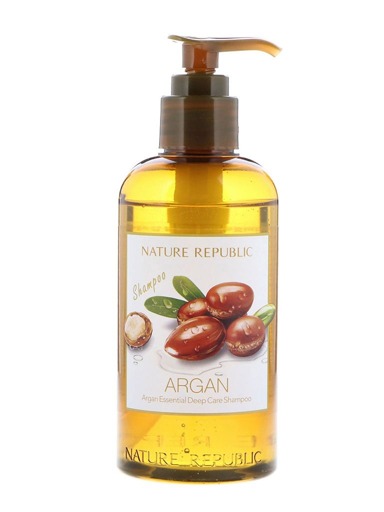 NATURE REPUBLIC Argan Essential Deep Care Shampoo (300ml)