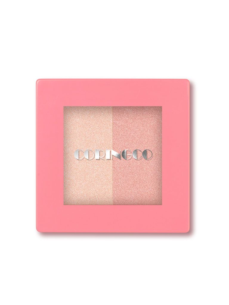 CORINGCO Pink Square Dual Highlighter (10g)