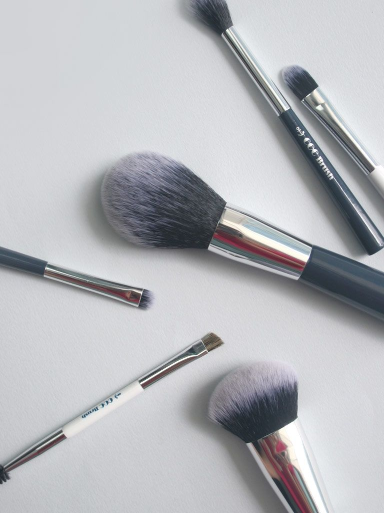 CORINGCO Marine Blue Make-up Brush Set (6p)