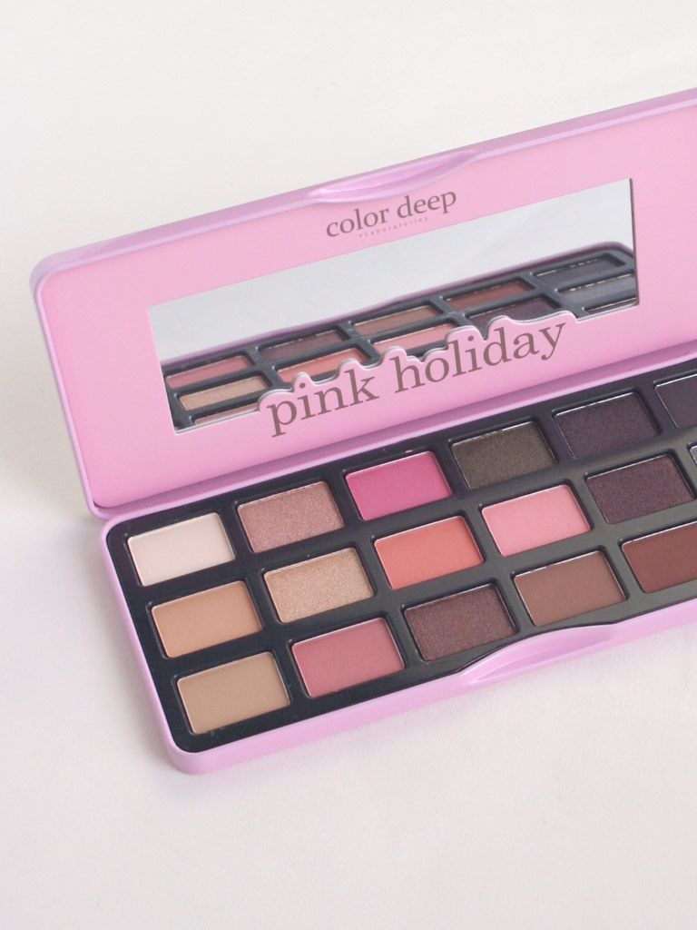 Color Deep 18 Color Eyeshadow Palette (1.3g*18ea)_Pink Holiday