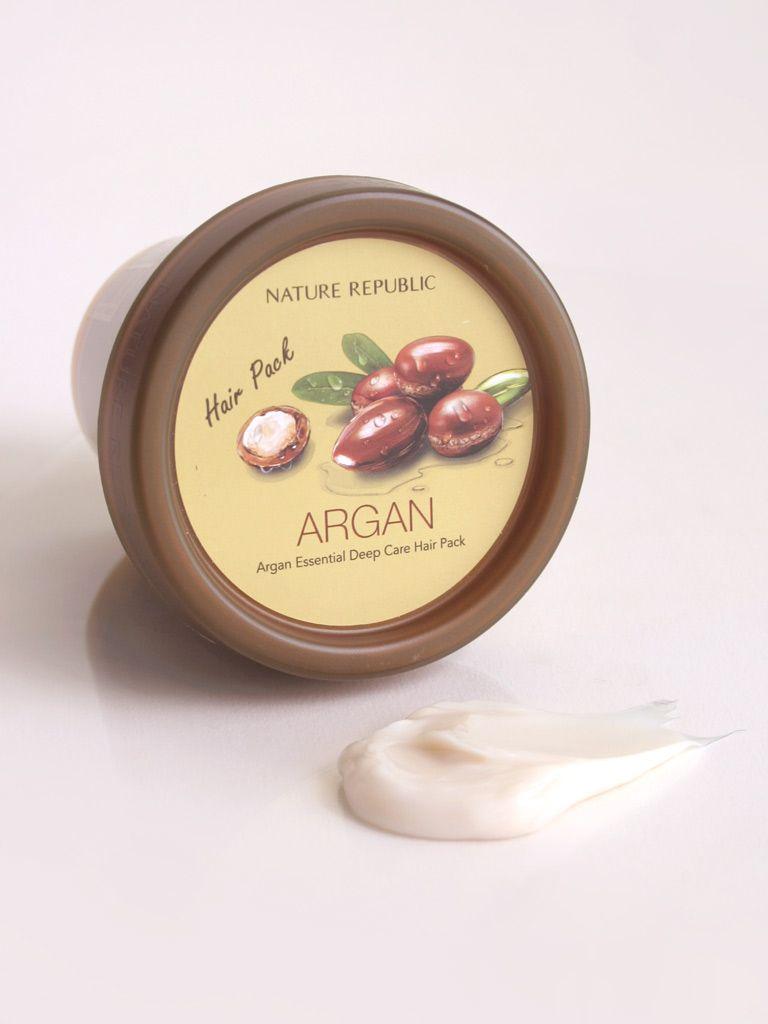 NATURE REPUBLIC Argan Essential Deep Care Hair Pack (200ml)