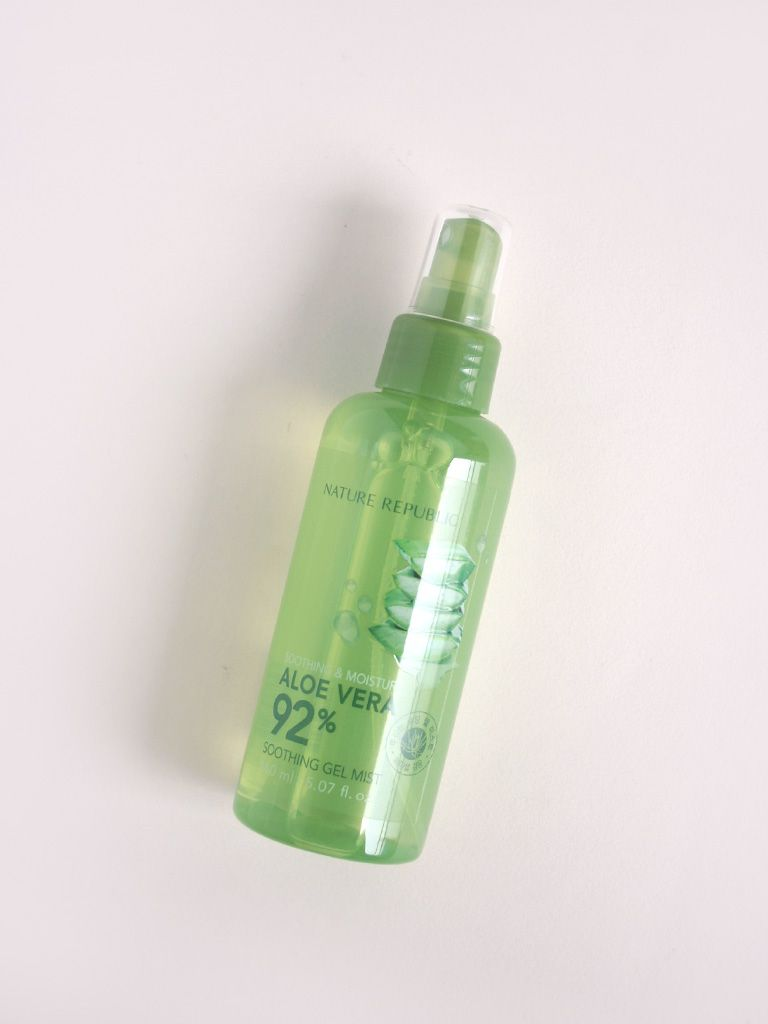 Buy Nature Republic Aloe Vera 92 Soothing Gel Mist 150ml At Jar 300 Ml Althea Singapore
