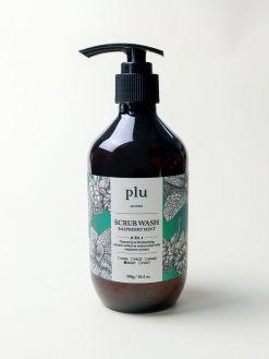 plu Scrub Wash Raspberry Mint (300g)