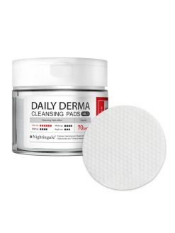 Nightingale Daily Derma Cleansing Pads Mild (70 pads)