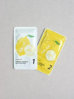 ALIVE:LAB Vitamin-C Sparkling Face Wash Set (13g, 17g)