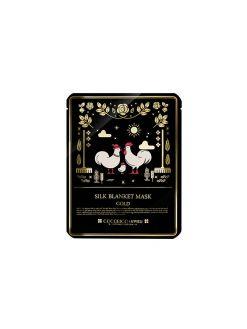 A'PIEU Gold Silk Blanket Mask_ Single