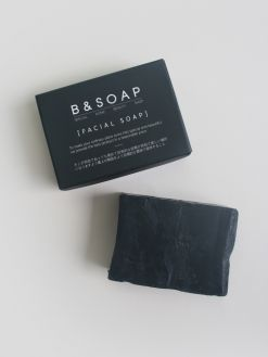 B&SOAP Facial Soap Black Block (100g)