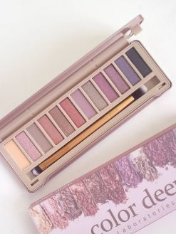 Color Deep 12 Color Eyeshadow Palette (1.5g*12ea)_Glam Shine