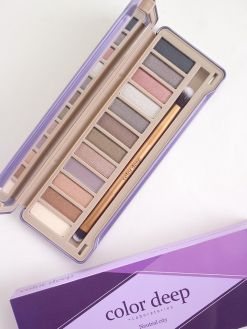 Color Deep 12 Color Eyeshadow Palette (1.5g*12ea)_Neutral City