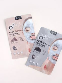COS.W O2 Bubble Black Mask 1 Sheet (20ml)