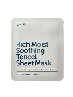 dear, Klairs Rich Moist Soothing Tencel Sheet Mask (25ml)
