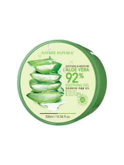 NATURE REPUBLIC Aloe Vera 92% Soothing Gel (300ml)