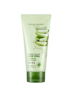 NATURE REPUBLIC Aloe Vera Cleansing Gel Cream (150ml)