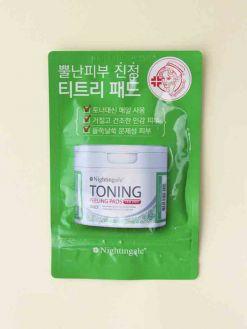 Nightingale Toning Peeling Pads Tea Tree (10pads)