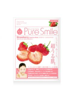 Pure Smile Original Essence Mask Strawberry_01. Single Sheet
