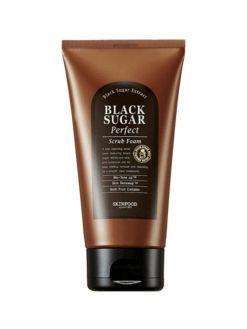 SKINFOOD Black Sugar Perfect Scrub Foam (180g)