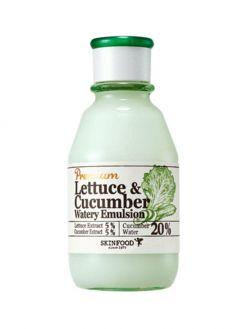 SKINFOOD Premium Lettuce & Cucumber Watery Emulsion (140ml)