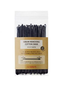 the SAEM Sebum-removing Cotton Swab