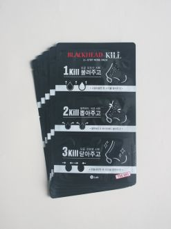 W.Lab Blackhead Kill 3-Step Nose Pack 5 Sheets (3g/0.2g/3g x 5)