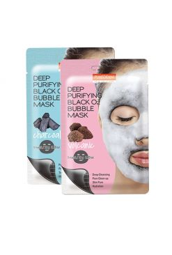 Deep Purifying Black O2 Bubble Mask 1 Sheet (20g)