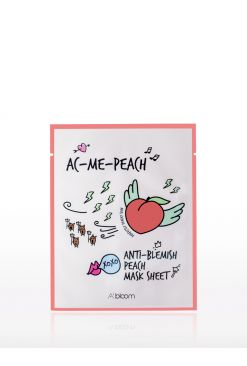 Anti Blemish Peach Mask (1 Sheet)