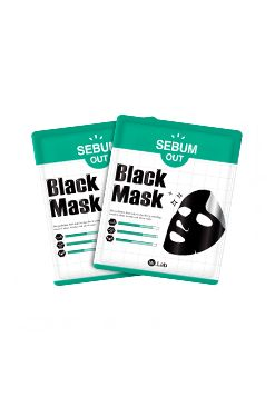 W-Lab [Raya Giveaway Festival] SEBUM-OUT Black Mask_Single