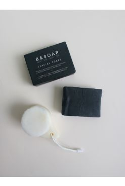 B&SOAP Black Block Set- Black Block+ Pore Brush