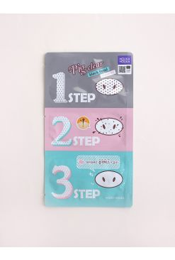 Pig Clear Black Head 3-Step Kit (21g)