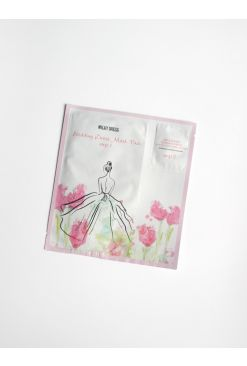 MILKY DRESS Wedding Dress Mask Pack (Step1&2) 1 Sheet