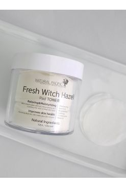 NATURAL PACIFIC Fresh Witch Hazel Pad Toner (105ml)