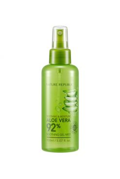 Nature Republic Aloe Vera 92% Soothing Gel Mist (150ml)