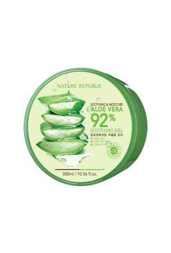Nature Republic Aloe Vera 92% Soothing Gel (300ml)