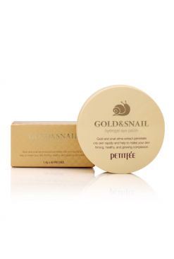 PETITFEE Gold & Snail Hydrogel Eye Patch (60 Patches)