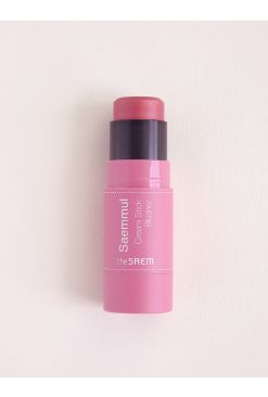 Saemmul Cream Stick Blusher (8g)_PK02 Rose Fire