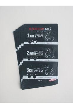 W.Lab Blackhead Kill 3-Step Nose Pack 5 Sheets (3g/0.2g/3g x 5)
