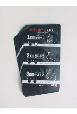 W.Lab Blackhead Kill 3-Step Nose Pack 10 Sheets (3g/0.2g/3g x 10)