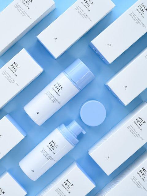 Milk Peel Cream Mask (50ml) 60% OFF (Minor Package Blemish)