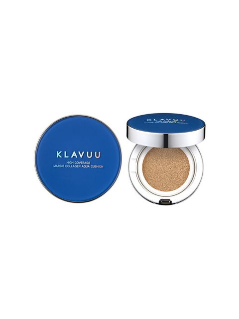 Blue Pearlsation High Coverage Marine Collagen Aqua Cushion