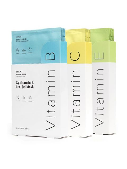 Ggultamin Real Jel Mask (5 Sheets)