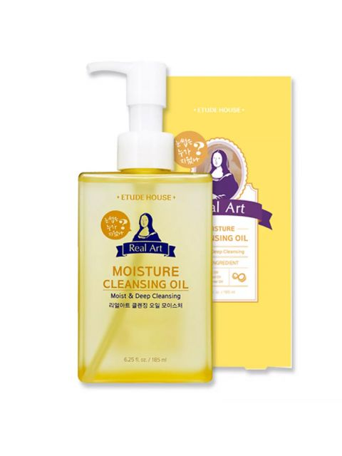Real Art Cleansing Oil Moisture (185ml)