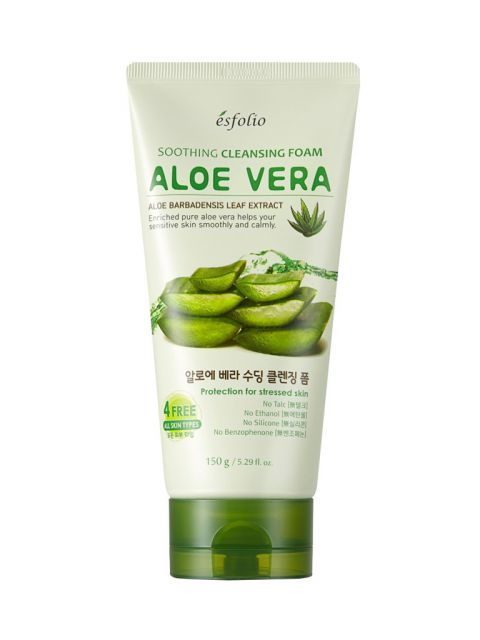 Aloe Vera Soothing Cleansing Foam (150g)
