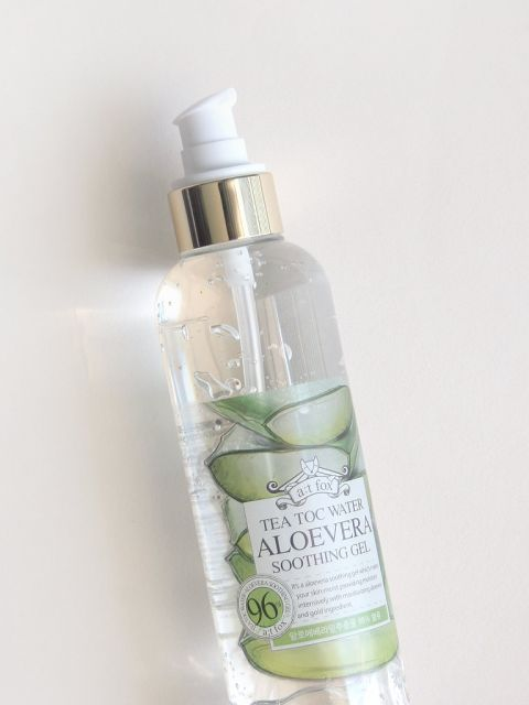 Tea Toc Water Aloe Vera Soothing Gel (250ml)