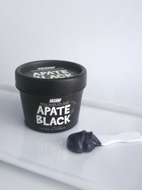 Apate Black Wash Off Pack (130g)