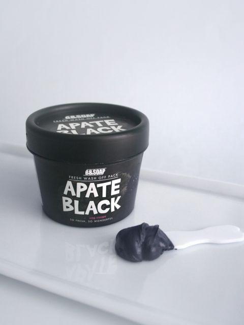 Apate Black Wash Off Pack (130g)