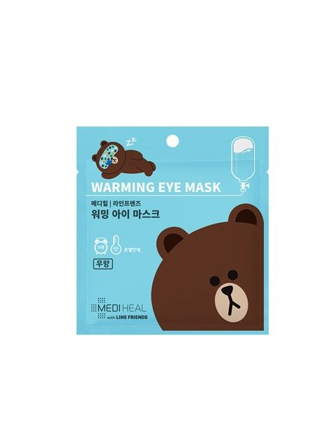 Line Friends Warming Eye Mask 1 Sheet (20g)_Scentless