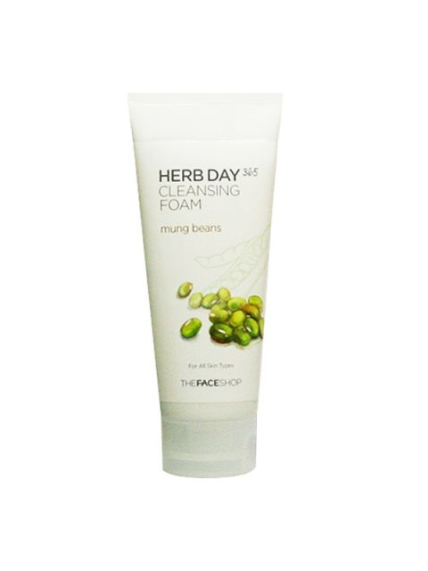 Herb Day 365 Cleansing Foam Mung Beans (170ml)