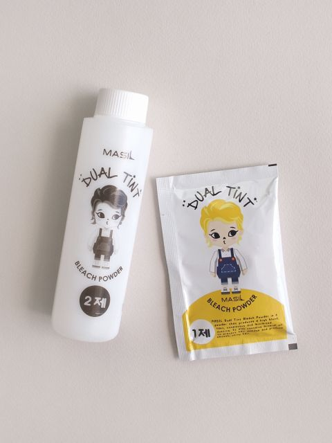 Dual Tint Bleach Powder (10g*3,90g)