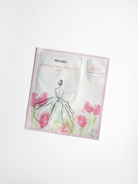 Wedding Dress Mask Pack (Step1&2) 1 Sheet