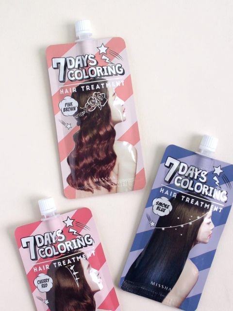 7 Days Coloring Hair Treatment (25ml)